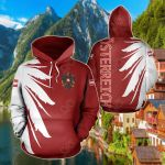 Austria Eagle Wing All Over Print Hoodies