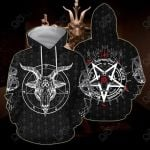 Satanic 5 Letters All Over Print Hoodies