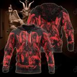 Satanic Rock Sport All Over Print Hoodies