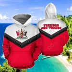 Trinidad And Tobago - Arrow Style All Over Print Hoodies