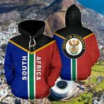South Africa Rising 2Nd All Over Print Hoodies