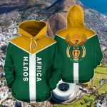 South Africa Rising All Over Print Hoodies