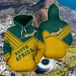 South Africa Springbok - Mount Style All Over Print Hoodies