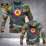 Customize Belgium Camo - New Form All Over Print Hoodies