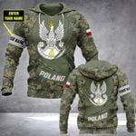 Customize Poland Army Camo - New Form All Over Print Hoodies