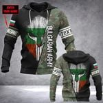 Customize Bulgarian Army Mask Style All Over Print Hoodies