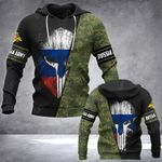 Russian Army Mask Style All Over Print Hoodies