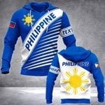 Customize Philippines Coat Of Arms Version All Over Print Hoodies
