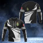 Customize Denmark Coat Of Arms New Style 3D Print All Over Print Hoodies