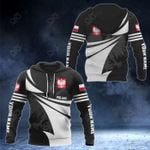 Customize Poland Coat Of Arms New Style 3D Print All Over Print Hoodies