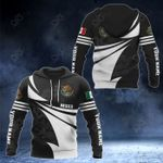 Customize Mexico Coat Of Arms New Style 3D Print All Over Print Hoodies