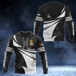 Customize Palestine Coat Of Arms New Style 3D Print All Over Print Hoodies
