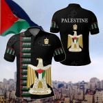Palestine - United All Over Print Polo Shirt