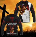 Jesus Firefighter All Over Print Hoodies