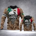 Mexican Roofer Flag All Over Print Hoodies