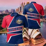 Australian's Pride All Over Print Polo Shirt