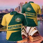 Australian's Pride V2 All Over Print Polo Shirt