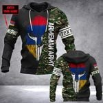 Customize Armenian Army Mask Style All Over Print Hoodies