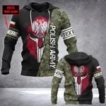 Customize Polish Army Mask Style All Over Print Hoodies