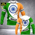 Customize India Coat Of Arms - New Form All Over Print Hoodies