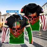 Customize America My Home Portugal My Blood All Over Print Hoodies