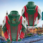 Mexico Speed All Over Print Hoodies