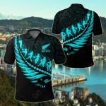 Aotearoa New Zealand - Maori Fern Rugby All Over Print Polo Shirt