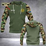 Customize Azerbaijani Armed Forces Coat Of Arms All Over Print Hoodies