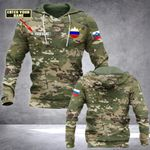 Customize Slovenia Army Camo All Over Print Hoodies