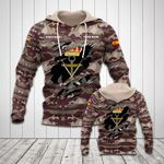 Customize Spanish Marines Camo All Over Print Hoodies