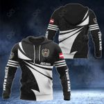 Customize Austria Coat Of Arms New Style 3D Print All Over Print Hoodies