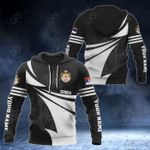 Customize Serbia Coat Of Arms New Style 3D Print All Over Print Hoodies