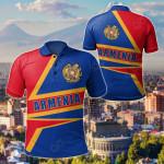 Armenia Pride All Over Print Polo Shirt