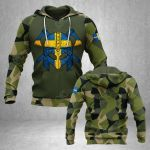 Viking Sweden All Over Print Hoodies