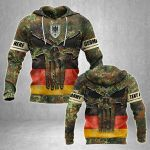 Customize Germany Army Heroes All Over Print Hoodies