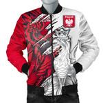 Polish Eagle All Over Print Bomber Jacket