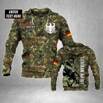 Customize German Army Soldier All Over Print Hoodies