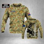 Customize Australian Army Soldier All Over Print Hoodies