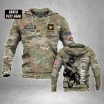 Customize US Army Soldier All Over Print Hoodies