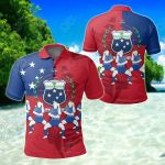Samoa Powerful Siva Tau All Over Print Polo Shirt