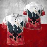 Poland - Polska Eagle Polska Pride All Over Print Polo Shirt