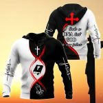 Jesus - God Is My Father (Black White) All Over Print Hoodies