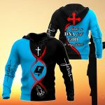 Jesus - God Is My Father (Black Blue) All Over Print Hoodies