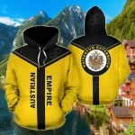 Austrian Empire Rising All Over Print Hoodies