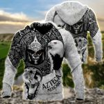 Mexican Aztec Warrior All Over Print Hoodies