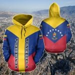 Venezuela Rising All Over Print Hoodies