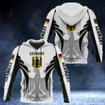 Germany Coat Of Arms Special Form All Over Print Hoodies