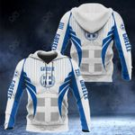 Greece Coat Of Arms Special Form All Over Print Hoodies
