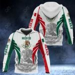 Mexico Coat Of Arms Special Form All Over Print Hoodies