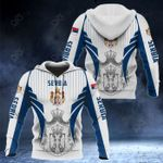 Serbia Coat Of Arms Special Form All Over Print Hoodies